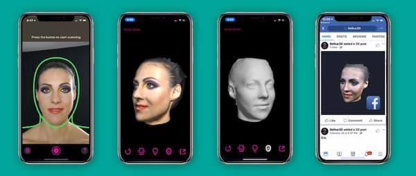 تکنولوژی سه بعدی در گوشی آیفون